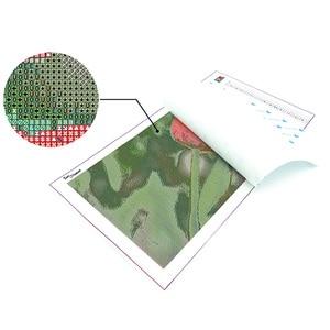 Image 4 - Từng Thời Điểm Ảnh Tùy Chỉnh 5D Tự Làm Tranh Gắn Đá Full Vuông Mũi Khoan Hình Ren Trang Trí Personalise S2F2000