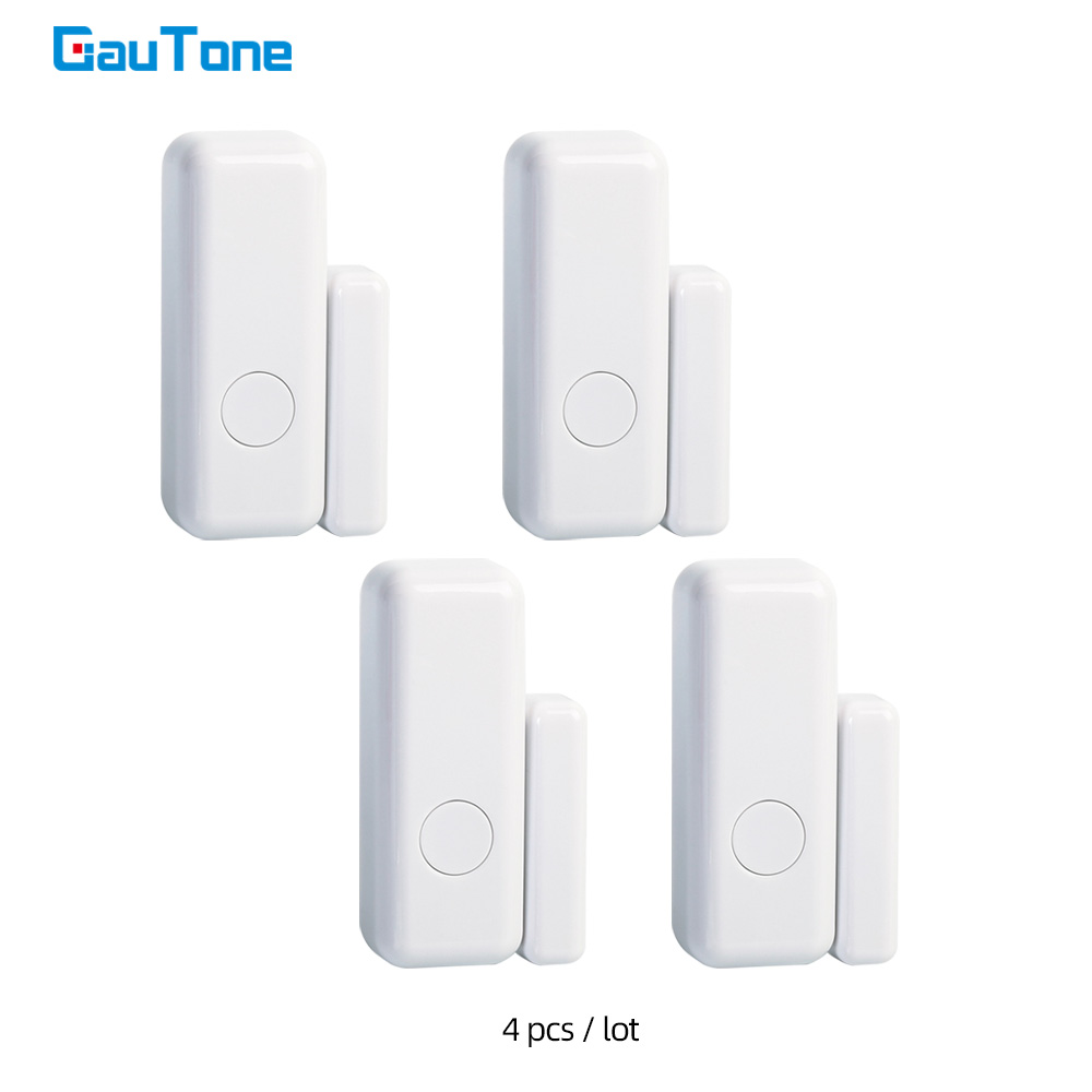 GauTone Door   Window Sensor 433MHz Wireless Home for Alarm System App Notification Alerts Sensor Detector