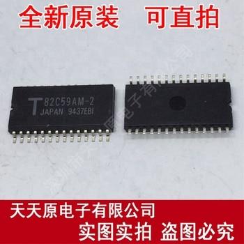 Free  shipping  10PCS/LOT  T82C59AM-2   SOP