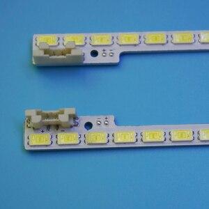 Светодиодная лента с подсветкой 510 мм, 72 светодиода для Samsung 46-дюймового ЖК-телевизора UA46D5000PR 2011SVS46 5K6K, H1B-1CH, UE46D6100SW