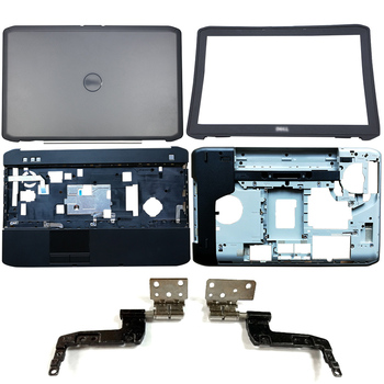 Cubierta trasera LCD para portátil Dell Latitude E5520 5520, bisel frontal, bisagras,...