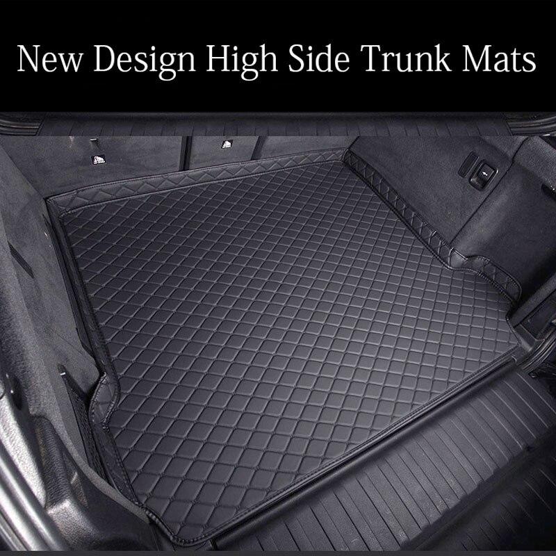 Custom car trunk mats Case for Toyota Camry Corolla RAV4 Mark X Crown FJ Cruiser leather Anti slip car styling carpet liner|  -