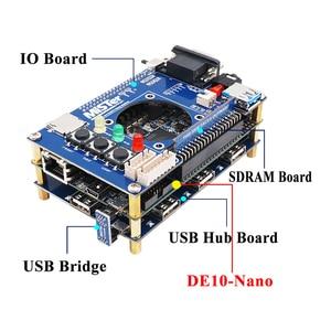 Image 5 - ريتروسكالر مستر FPGA عدة التحكم الأساسية (Terasic DE10 Nano) المجلس الرئيسي لمشروع مستر FPGA منصة متعددة الألعاب
