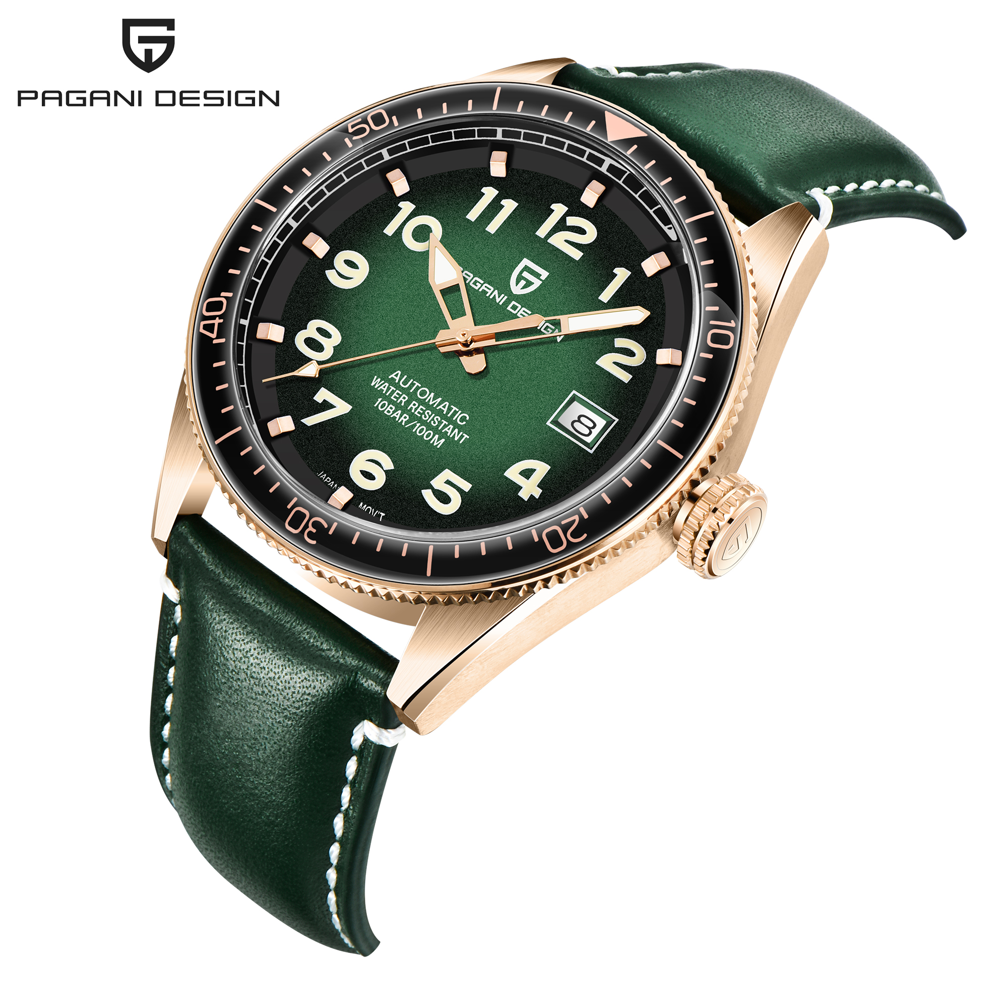 PAGANI design Luxury exquisite watch men's mechanical watch men's watch popular fashion night light waterproof men's watch 1649
