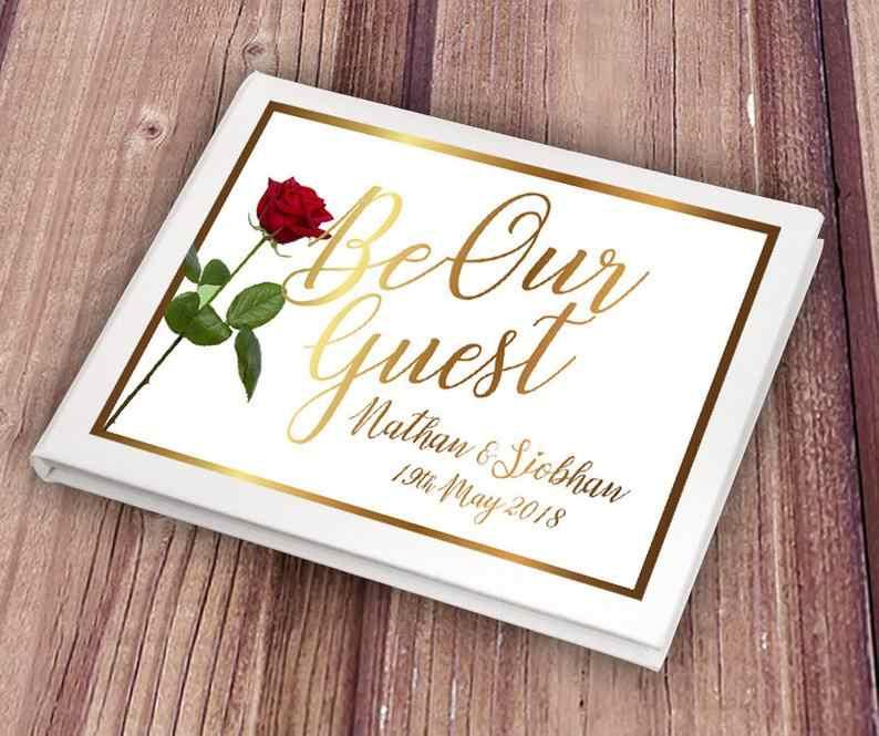 Personalize o casamento ser nossos convidados álbum de fotos livro de assinatura livro de visitas a beleza ea besta do chuveiro do bebê livro livros de visitas photo booth