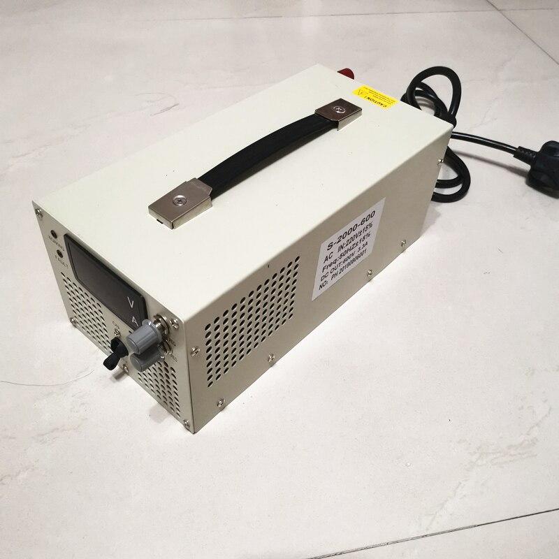 2000w Schalt Netzteil 0-12V 24v 36v 48V 60V 70V 80V 90V 110V 220V 300V 400v 600v Einstellbare Spannung & strom Versorgung