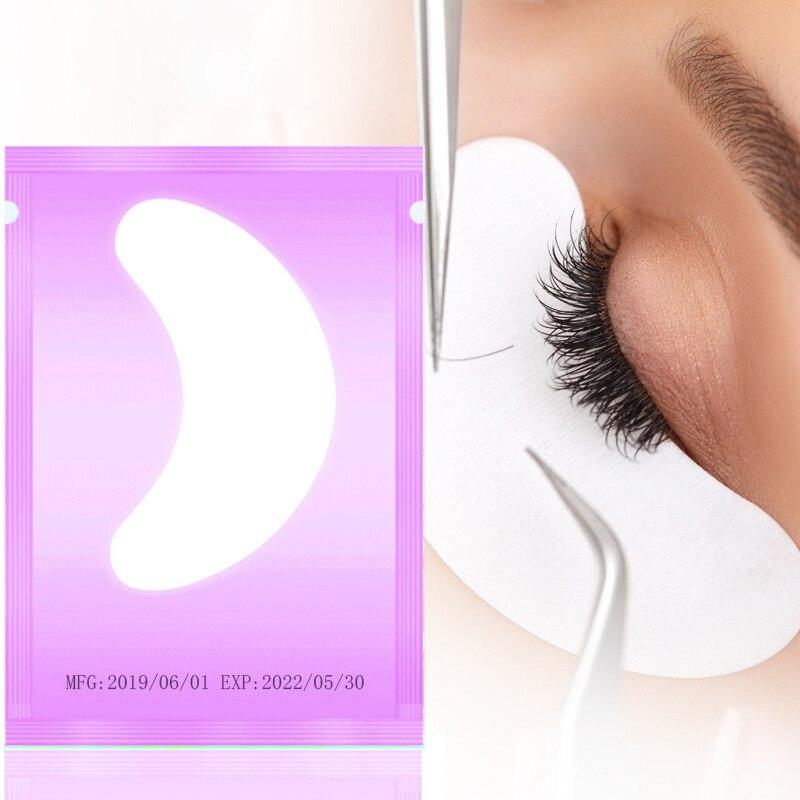 50 par/lote Cílios Sob Almofadas Olho Sem Fiapos Ferramentas Fontes de Patches Para A Extensão Dos Cílios Cílios Extensão Para Profissionais