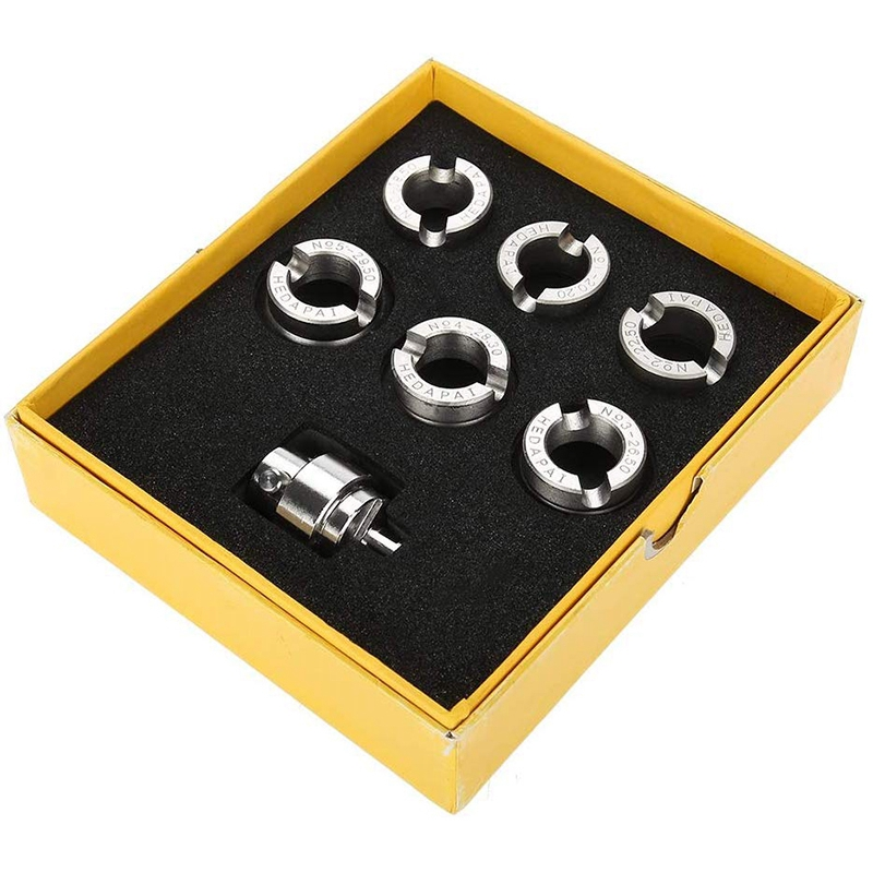 Watch Back Opener Watch Case Cover Dies and Adapter with Six Slots Watches Accessories Kits and Repair Tools for 5700 Watch Case