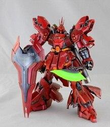 China Modell Gundam MG 1/100 Modell MSN-04 SAZABI Ver. KA Mobile Anzug Kinder Spielzeug
