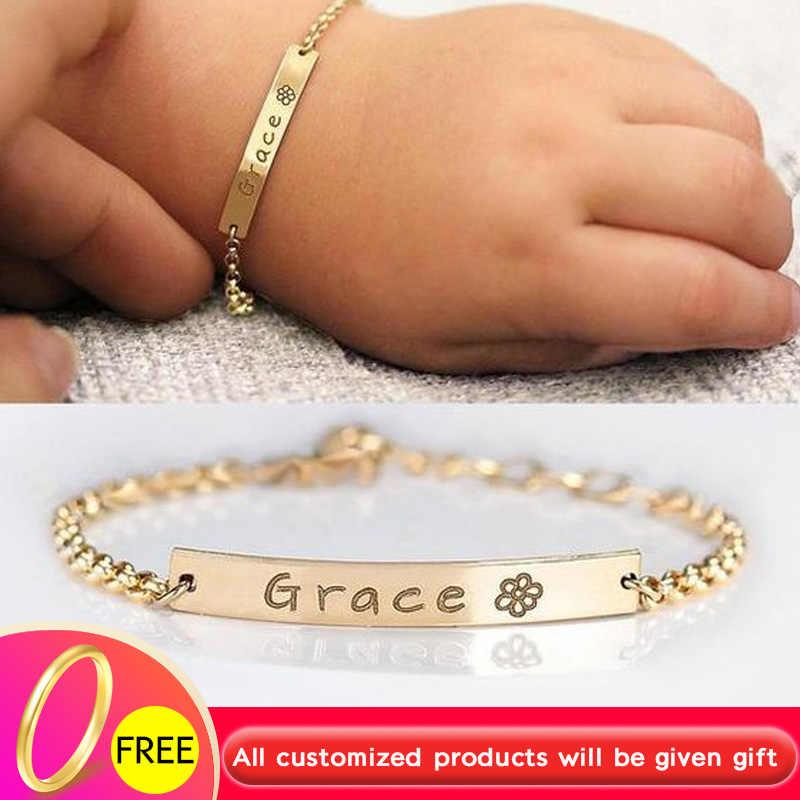 Id Bracelet Gold Silver Stainless Steel