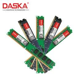 DASKA nowy DDR3 8GB 4GB 2GB 1600/1333 MHz PC3 12800/10600 pamięć stacjonarna DDR 3 płyta główna ram DIMM w RAM od Komputer i biuro na