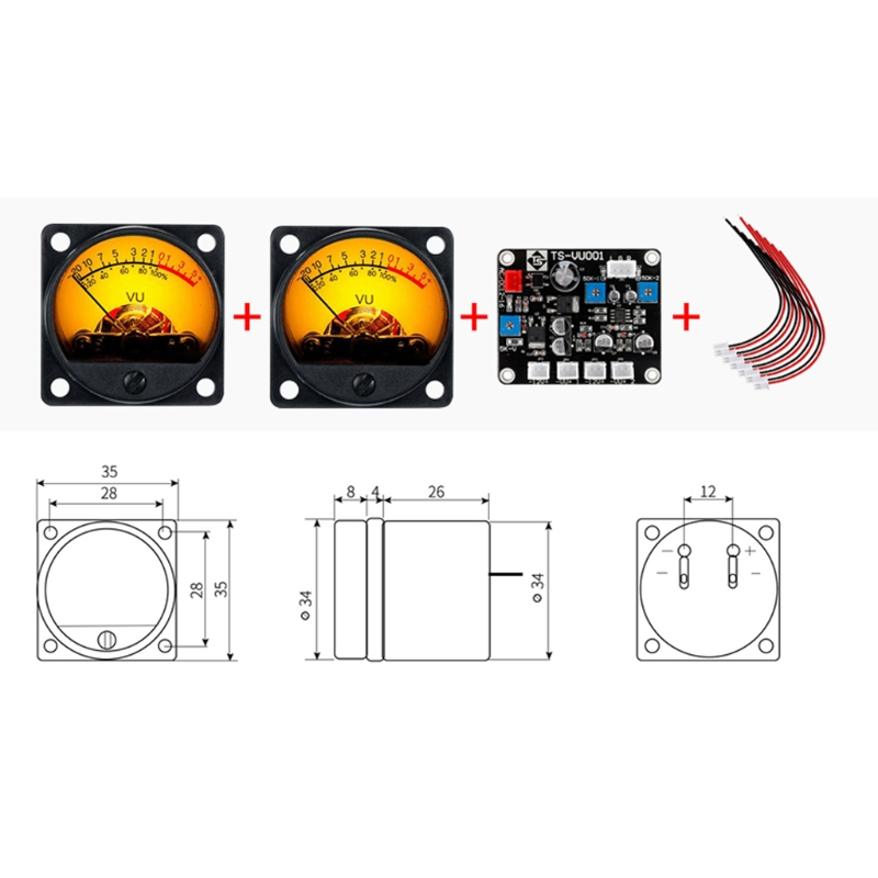luz traseira quente & áudios nível amp com placa de motorista