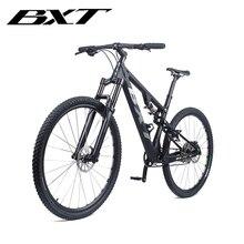 2020 Full Carbon Fiber Suspension Bike Complete bicycle Mountain BIKE Suspension bicycle MTB Carbon Frame S/M/L/XL