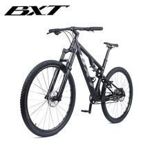 2020 En Fiber De carbone pleine Suspension Vélo Complet vélo VTT Suspension Vélo vtt Cadre CARBONE S/M/L/XL