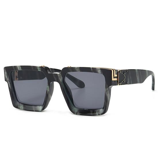 Retro Square Sunglasses Women Ins Popular Sun Glasses Men UV400 12