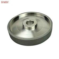 DMD Diamante CBN mola per motosega temperamatite Diametro 150 millimetri In Acciaio Ad Alta Velocità Per Il Metallo di pietra Strumento di Potere 150 grit h1