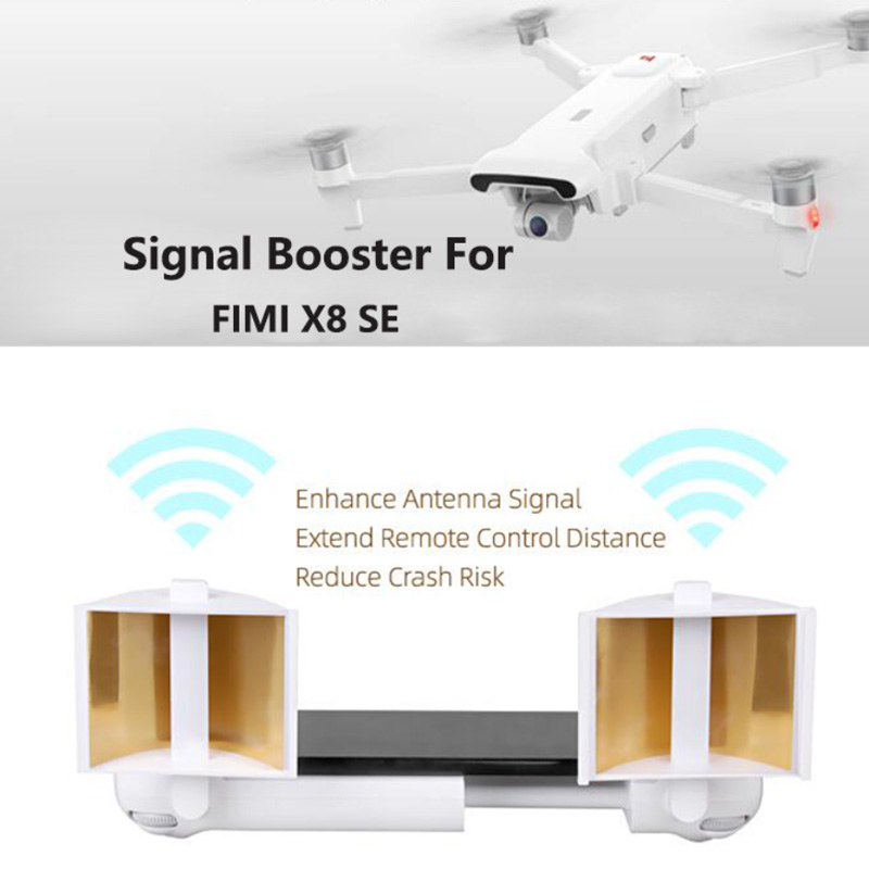 Newest Antenna Range Extender Signal Booster For FIMI X8 SE Drone Accessories