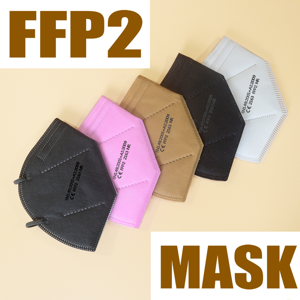 mascarillas CE ffp2 Maske 6 layers ffp2mask protect High Quality mouth Dust mask Face Cover fpp2 Mask Masque ffp2mask approv