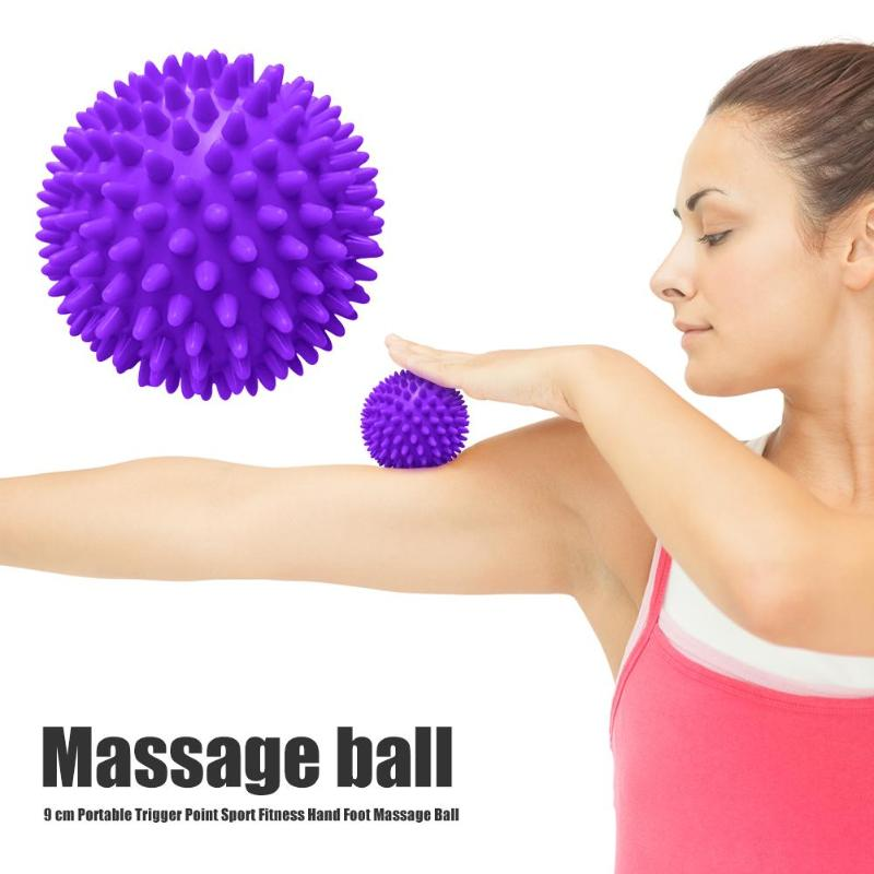 Hot Sale Spiky Massage Ball Classic Delicate PVC Spiky Massage Ball Trigger Point Sport Fitness Hand Foot Pain Stress Relief