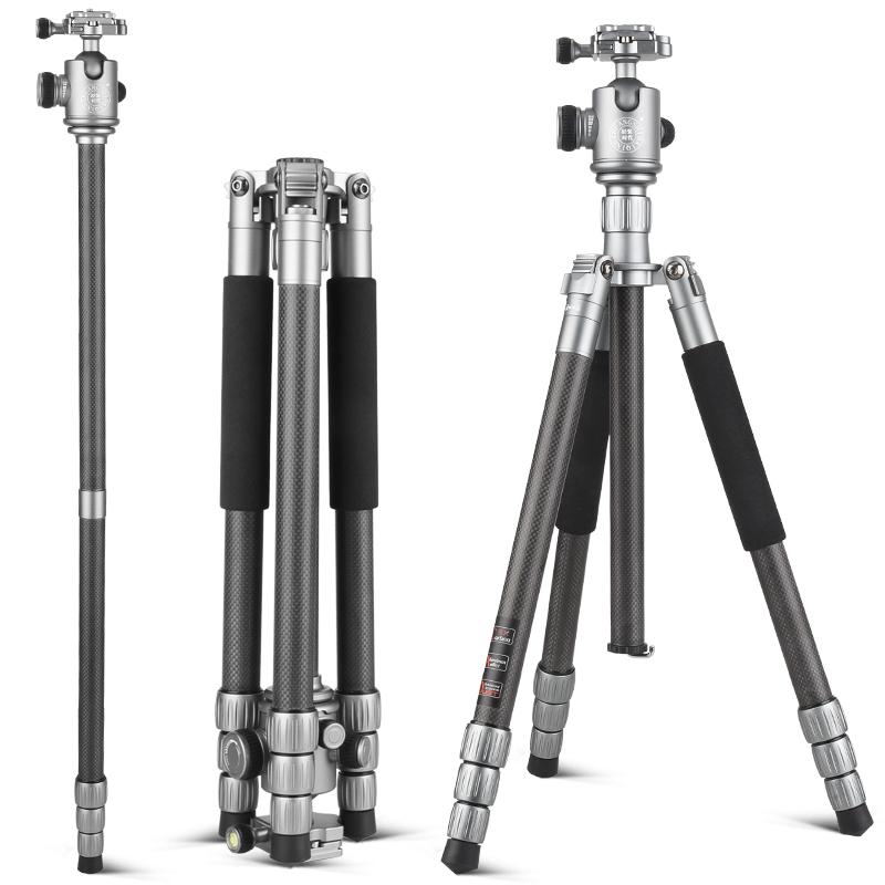 Q868C Carbon Fiber Tripod Camera Tripod 62\