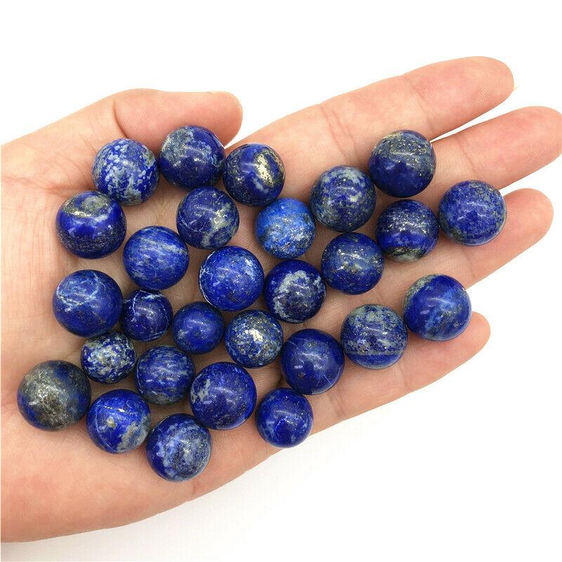 Small Size 12-15mm Natural Lapis Lazuli Polished Stones Crystal Balls Sphere Healing Decor Natural Quartz Crystals