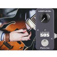 KOKKO FLP2 Portable Mini Looper SOS Guitar Square Pedal 1M Ohms Guitar 10K Ohms Accessories DC adapter Effect