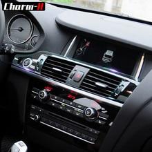 Внутренняя отделка приборной панели переключения передач Панель фар переключатель frameпрозрачный защитная пленка наклейки для BMW X3 X4 F25 F26