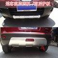 Автомобильный Стайлинг  высокое качество  пластик  АБС ХРОМ  передний + задний бампер  накладка  2 шт.  для Nissan Qashqai J10 2007-2015  автомобильные чехл...