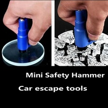 Glass-Crusher Gadget Window-Breaker Mini Keychain Safety-Hammer Automotive with Escape