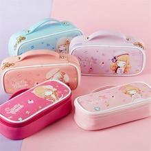 Kawaii For Girls Pencil Cases Cute Pencilcase Stationery 4 Layer Bags Cartuchera Estuche Escolar Etui Piornik Trousse Scolaire