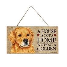 Vintage Home Decoration Sign placa de madera Cool Plate cartel de madera perro decoración de pared señal de madera decoración de la pared calcomanías artesanales # 0116SMT