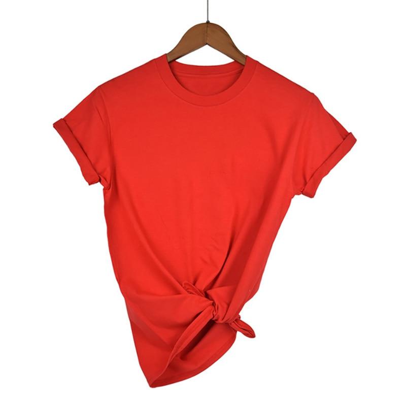 Women O-neck Long Sleeve T shirts Lady White Cotton Tops Female Soft Casual Tees Women's Black T-shirt