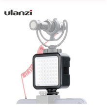 في المخزون روسيا LED الفيديو الضوئي 49 الخرز عكس الضوء شاشة ليد لعرض الفيديو الخفيفة ل Ronin S الهاتف Gimbal Gopro 7 6 DSLR كاميرا كانون