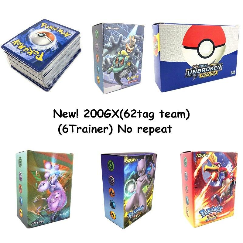 240 шт. держатель Альбом игрушки коллекции Pokemones карты Альбом Книга Топ загруженный список игрушки подарок для детей - Цвет: 200GX(62tag team)