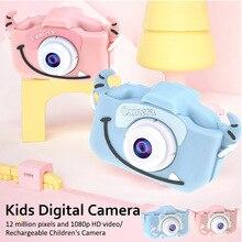 2020 2.0 inch Screen Kids Camera Mini Digital 12MP Photo Chi