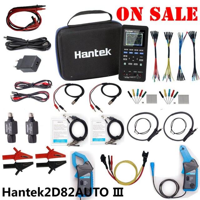 Hantek 2d82auto automotive oscilloscope 2d82 auto  digital portable handheld  4in1 3in1 2c42 2d72 2d42 2c72 2d82