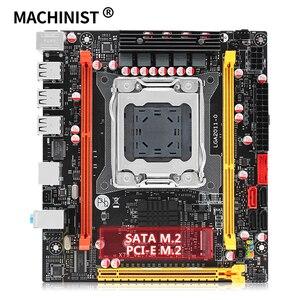 MACHINIST X79 desktop motherboard LGA 2011 support Intel xeon processor DDR3 ECC REG RAM mini-itx mainboard X79 V2.73
