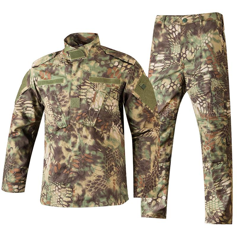 Army Mens Jacket Pants Military Tactical BDU Uniform Suit Special Force Hiking