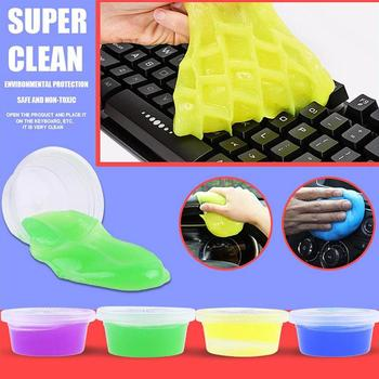 1Pc Cleaning Soft Glue Reusable Computer Keyboard and Mouse Dust Removal Cleaning Soft Glue Car Cleaning Glue Dust Gap Cleaner image