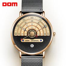 Black Watch Mechanical-Wristwatch Business-Sport Waterproof Automatic Brand Luxury Dom-Design