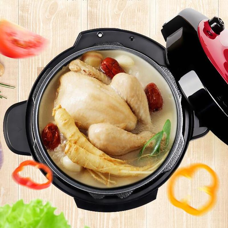 Electric Pressure Cooker with Double Gallbladder 6L Smart Home Electric Pressure Cooker Rice Cooker 1