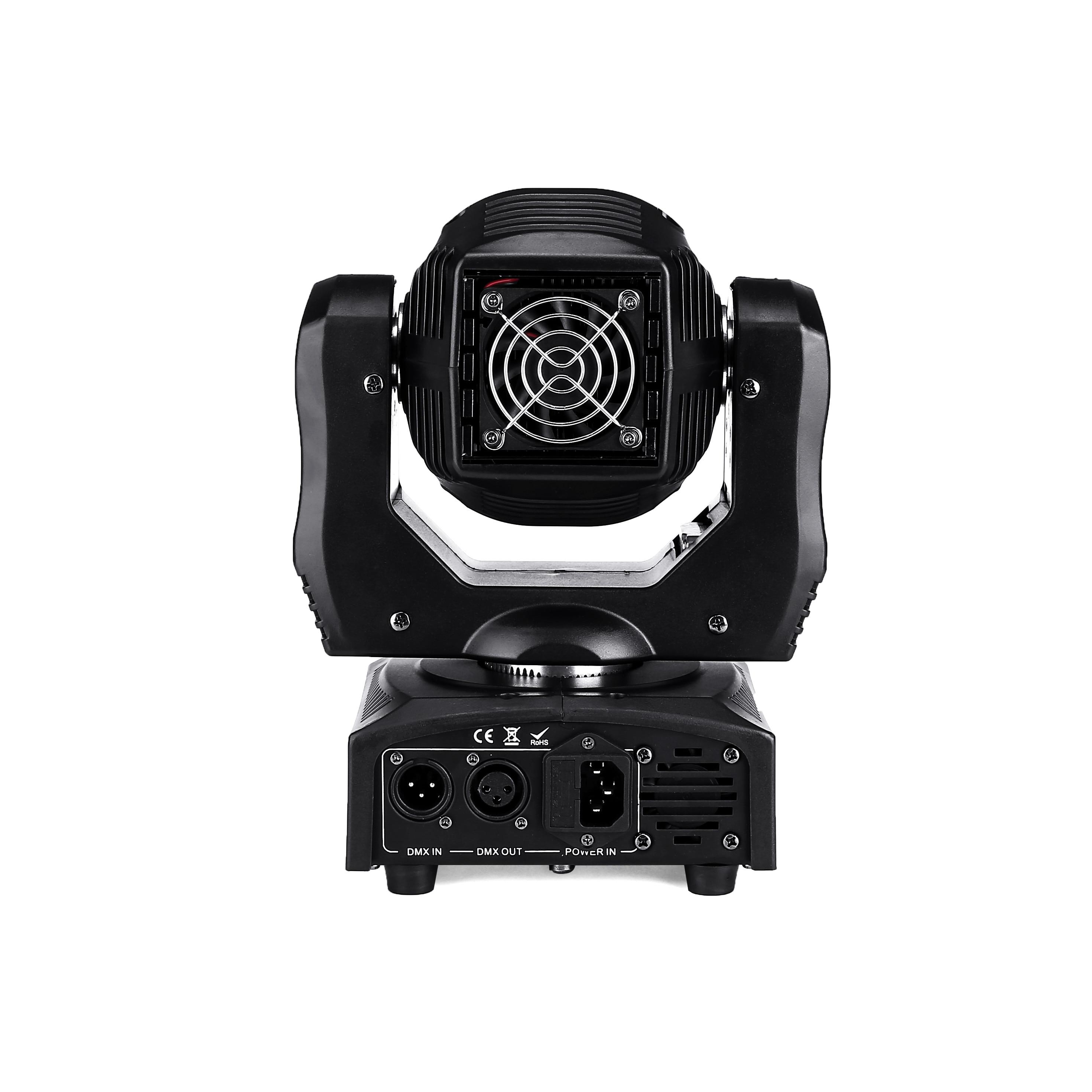 Image 3 - 60W LED Spot Moving Head Light 65W LED DJ Beam Light LED Spot Light with gobo&color wheel Disco DJs Equipmentnt-in Stage Lighting Effect from Lights & Lighting