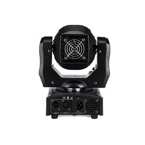 Image 2 - 75W LED ספוט הזזת ראש אור 65W DJ קרן אורות ספוט אור עם Gobo & צבע גלגל דיסקו תקליטנים Equipmentnt