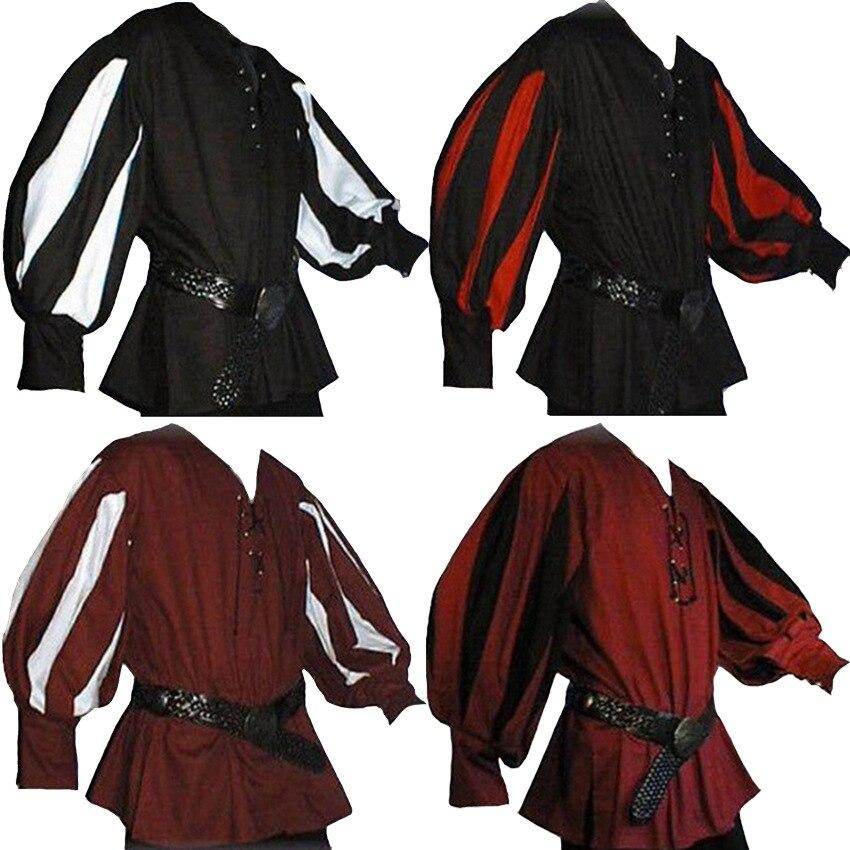 Medieval Knight White John Tunic Men Reenactment Clothing Warrior In Stock