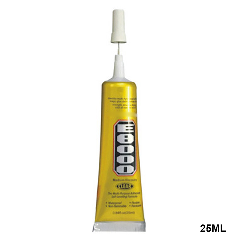 E8000 прозрачный клеевой герметик, клей для DIY телефона границы Алмазная одежда