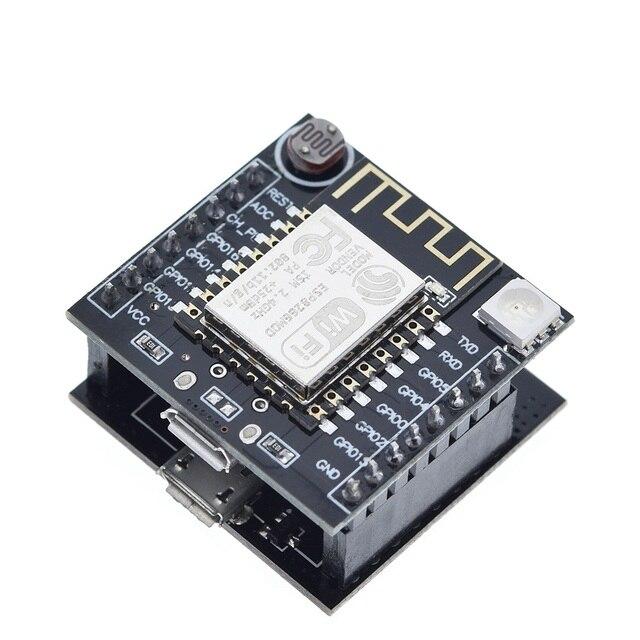 5PCS ESP8266 Serial WIFI Adapter Plate Applies to ESP-07//ESP-08//ESP-12 ASS