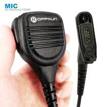 מיקרופון רמקול מיקרופון עבור מוטורולה Xir P8268 P8260 P8200 P8660 GP328D DP4400 DP4401 DP4800 DP4801 ווקי טוקי שתי דרך רדיו