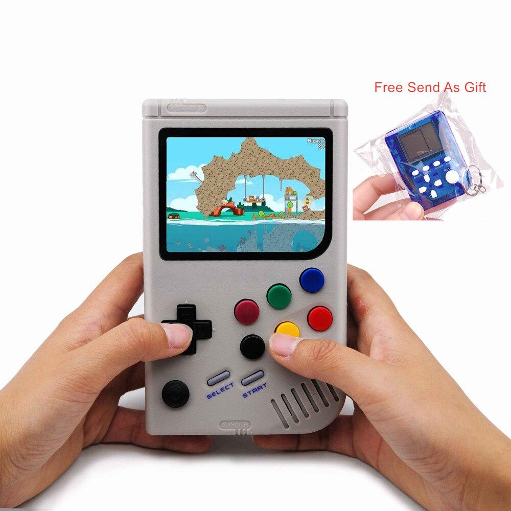 Consola de juegos de mano Raspberry Pi 3B Retro Para LCL PI Game Boy Video juego clásico Raspberry Pi para Gameboy DHL envío
