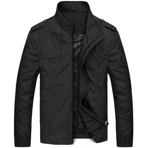 New Jacket Men Fashion Casual Loose Mens Jacket Sportswear Bomber Jacket Mens jackets men and Coats Plus Size 2019 Karachi