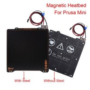 Магнитная Тепловая кровать супер пружинная стальная пластина лист BIQU SSS 202x186x2 мм 3D части принтера горячая кровать для Prusa мини кровать с подо...